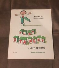 Flat Stanley by Jeff Brown 2nd Printing Paperback