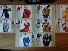 2012 GREAT BRITISH FASHION PHQ CARDS 364 FDI FRONT SPECIAL PICTORIAL HANDSTAMPS