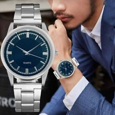 Business Watch Men's Steel Analog Quartz Watch Classic Design Luxury Watch
