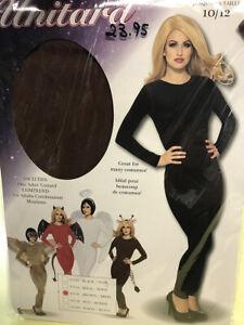 costume unitard dark brown size medium