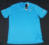 Adidas Run Training Tee DX2302 Climalite Blue