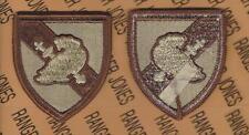 US Army Military Academy West Point USMA Cadre Desert DCU patch m/e