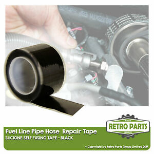 Fuel Line Hose Pipe Repair Tape For Tractor. Leak Fix Pro Sealant Black