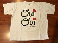 OUI OUI Quebec White Short Sleeve T-Shirt