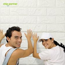 20PCS 3D Brick Decals Wallpaper Sticker Home Wall Poster Foam Decor PE DIY Lot