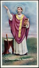 "santino-holy card""""ediz. EB-n.2/357 S.VALENTINO PRETE M."