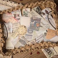 32st Retro English Paper Music Note Sticker Kit DIY Scrapbooking Journal Dekor