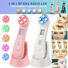 5 in 1 EMS RF Facial LED Photon Skin Care Lift Massage Tighten Beauty Machine