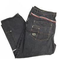 "PACO Men's Jeans 90s Vintage Baggy Wide Leg Jeans Skateboarding 50""X 32"""