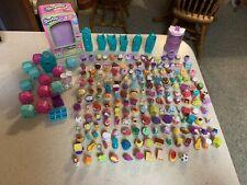 Shopkins Lot of 175 Pieces Plus Baskets, Individual Cases, & Tin