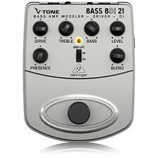 More details for behringer bdi 21 bass amp modeler/ di guitar effects pedal
