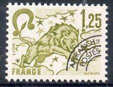 TIMBRE FRANCE NEUF PREOBLITERE  N° 156 ** SIGNE DU ZODIAQUE / LION