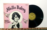 Ruth Etting – Hello Baby - LP 1973 - Jazz / Pop - BIOGRAPH Records, NM Vinyl