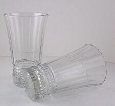 Cristal D'Arques Durand Victoria Glass Cooler Tumbler Water Ice Tea 16oz 2pcs