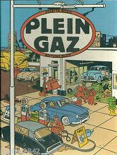 PLEIN GAZ EO1984 100 ANS D'AUTOMOBILES FRANCAISES DANS LA BD Bande dessinée MINT