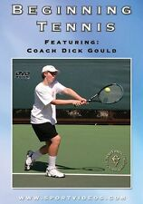 Beginning Tennis DVD - with Coach Dick Gould 17 national titles at Stanford