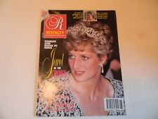 "ROYALTY MONTHLY  VOL 11 NO 6 MARCH 1992 - PRINCESS DIANA ""JEWEL IN THE CROWN"""