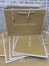 Michael Kors Mk Medium Shopping Paper Gift Bag 15x11x6.5 Lot of 5 Brand New