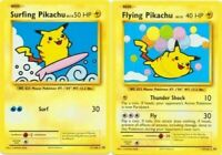 Flying + Surfing Pikachu SECRET RARE Pokemon TCG XY Evolutions 111 110/108 - LP