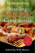NEW YORK TIMES SIZZLING SUMMER 75 CROSSWORD PUZZLES (Paperback)  ^NEW ^