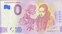 BILLET 0  EURO CACHTICKY HRAD  SLOVAQUIE  2020 NUMERO DIVERS
