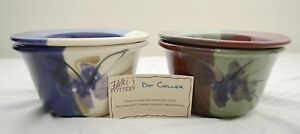 """Made-in-the-USA 6"""" Dip Chiller/Warmer by Follette Pottery"""
