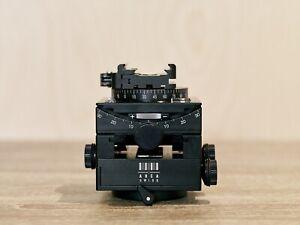 Arca Swiss C1 Cube Geared Tripod Head with Quickset Fliplock Device Serviced