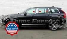 2015-2020 Volvo XC90 6Pc Chrome Pillar Post Stainless Steel Trim Door Cover