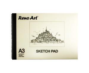 Sketch Pad A3 150gsm Atrist Painting Art Paper Sketchbook Drawing Craft Pastel