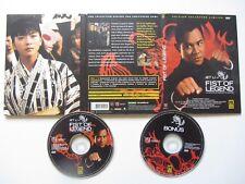 Fist of Legend de Gordon Chan avec Jet Li, collector 2DVD, Action/Kung-Fu