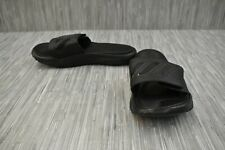 adidas Adissage Cushioned Slides - Men's Size 11, Black