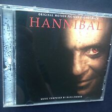 Hans Zimmer HANNIBAL Film Soundtrack CD 2001 Anthony Hopkins Ridley Scott Badelt