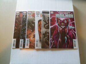 2019 Tony Stark: Iron Man STARK REALITIES Complete Set of 6 Comics (6-11) NM/1ST
