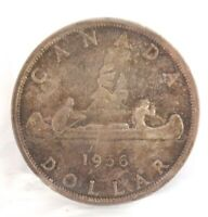 .CANADA CANADIAN 1956 $1 VOYAGEUR ICCS MS-62 GRADE. (SX406)