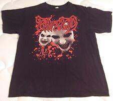 ICP Insane Clown Posse Shirt Twiztid Tour Maiden Nirvana Metal Ozzy 90s Slayer
