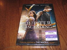 Jupiter Ascending: Channing Tatum ] DVD+Digital HD UV, 2015] New + I Ship Faster