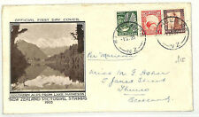 NEW ZEALAND First Day Cover *Pictorial Issues* Illustrated FDC 1935 AB58