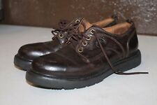 Timberland Brown Waterproof Shoes Size 9M Genuine Leather Upper #95503