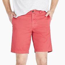 Men's $65 J.Crew Stanton red chino shorts! Size 30