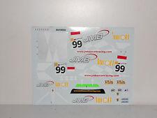 DECAL FERRARI F430 GT2 24H LE MANS 2008 JMB  #99 BBR 1/18 COD AB18022