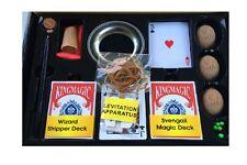 Ultimate Street Magic Kit Set OVER 250 Tricks Shell, Levitation, Magic Pen,