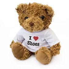 NEW - I LOVE SHOES - Teddy Bear Cute Cuddly - Gift Present Birthday Valentine