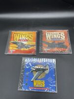 Wings - Korea to Vietnam, Midway To Hiroshima, Over Europe - Lot Of 3 NEW (PC)