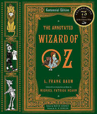 The Annotated Wizard of Oz by L. Frank Baum (Hardback, 2000)