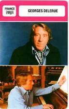 FICHE CINEMA : GEORGES DELERUE - France  (Biographie/Filmographie)