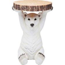 KARE 78943 Beistelltisch polar Bear Blumensäule Tisch Eisbär Couchtisch