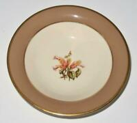 "Flintridge China CAMBRIA COCOA Berry Fruit Sauce Dessert Bowl 5 1/2"" Across"
