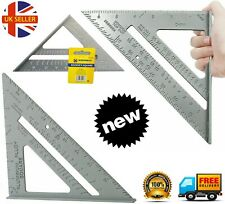 "New 7"" Steel Roofing Roofer Square Carpenters Wood Working 7 Inch Alloy Tool k11"
