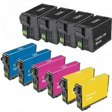 10 Pk Reman Epson T252XL Ink  for EPSON Workforce WF-3640, WF-7620, WF-7610