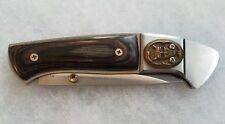Rare Vintage Fury Japan Oni 10183 Unique Folding Pocket Knife